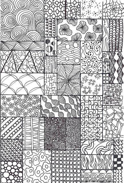 Zentangle Ideen Drawing Pinterest Zentangle Muster Zentangle