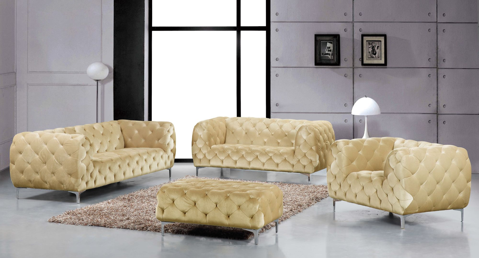 Furniture usaMeridian Furniture USA Mercer Sofa   Reviews   Wayfair   1336  . Living Room Chairs Usa. Home Design Ideas