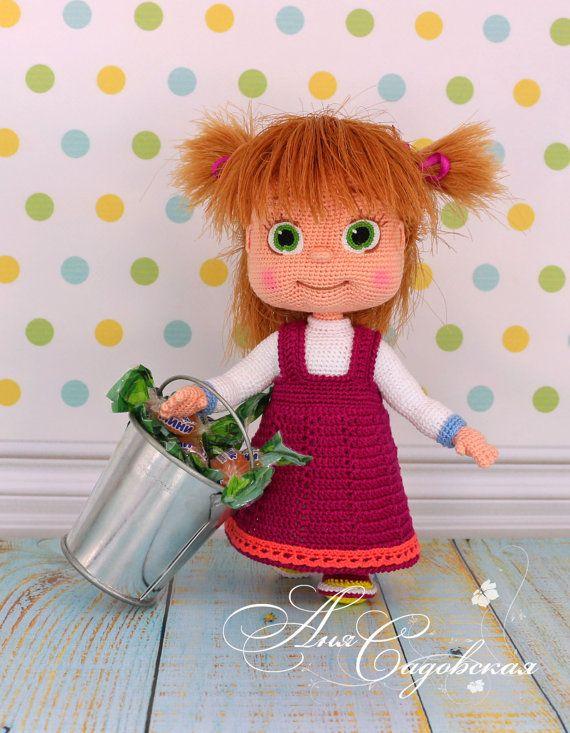Amigurumi Tutorial Masha : Masha - Amigurumi Crochet Pattern PDF file by Anna ...