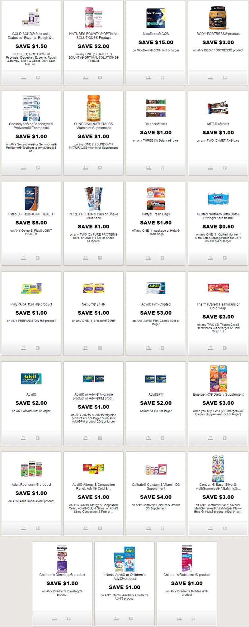 New Printable Coupons For Hefty Advil Centrum More Http Www Iheartcoupons Net P Redplum Html Coupons Couponing Printable Coupons Centrum Coupons