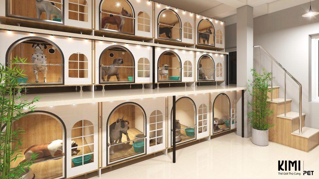 Giới thiệu về Kimi Pet Thế Giới Thú Cưng Dog hotel