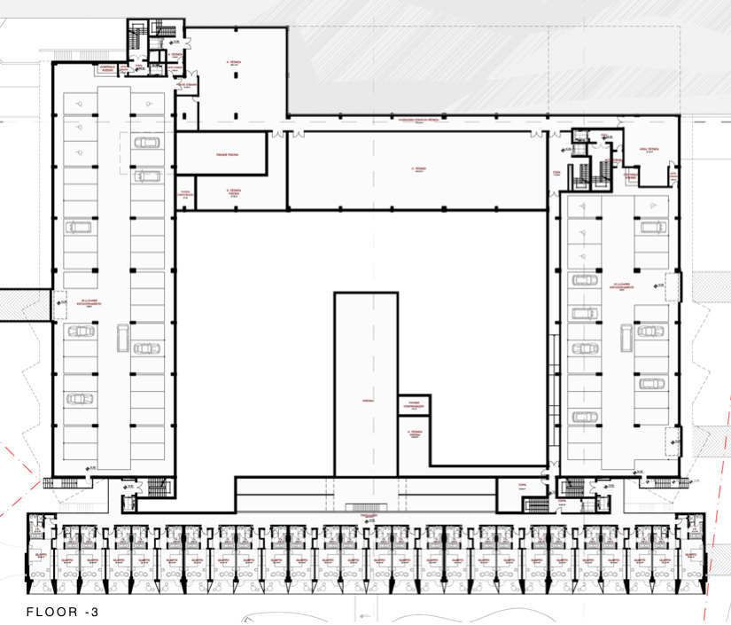 Gallery Of Yellow Hotel Plan Associated Architects 15 Hotel Plan Hotel Spa Interior Design