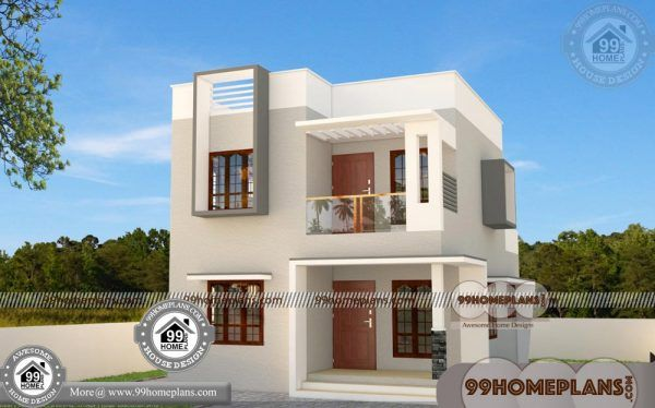 Simple Home Plans 100 Two Floor House 50 Low Cost Home Design Simple House Plans Simple House Duplex House Design Home plan low cost
