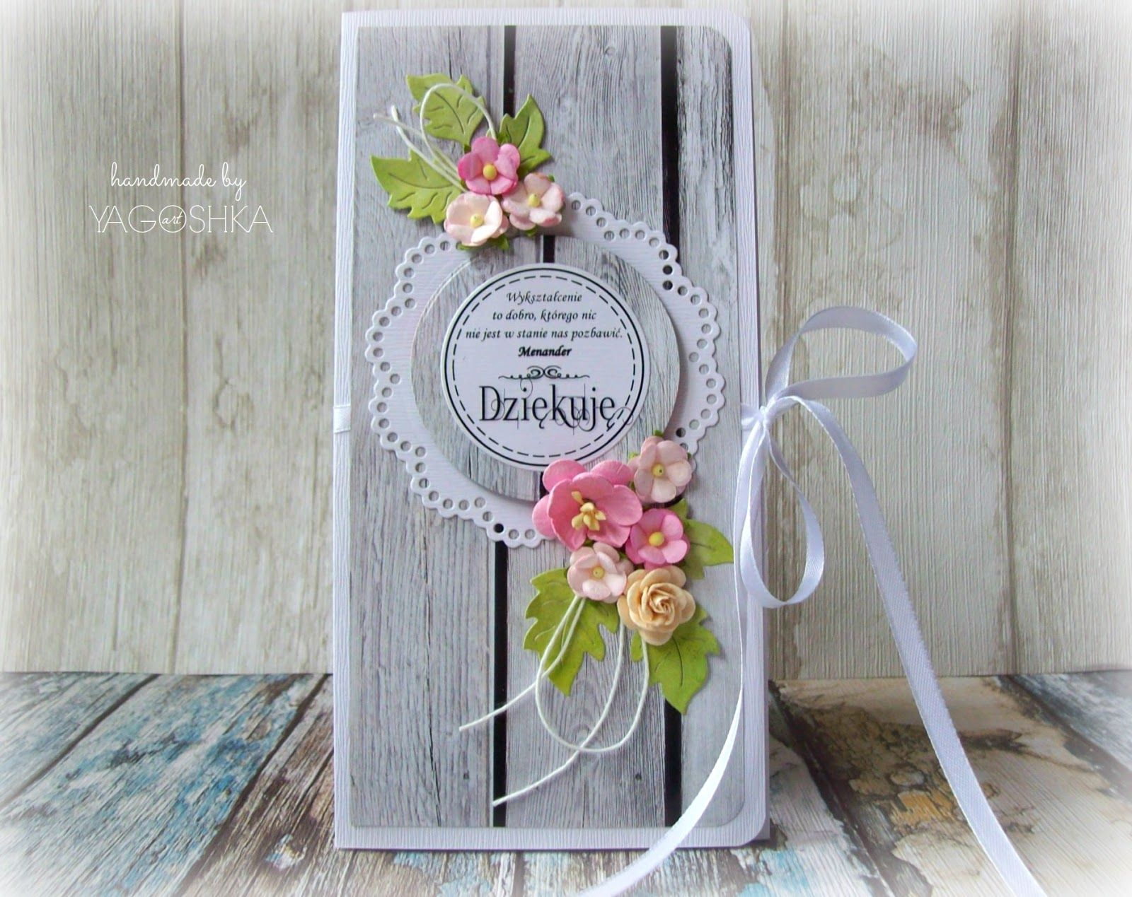 Yagoshka Art Rekodzielo Scrapbooking Decoupage Diy Kartki Na Zakonczenie Wreaths Decor Hoop Wreath