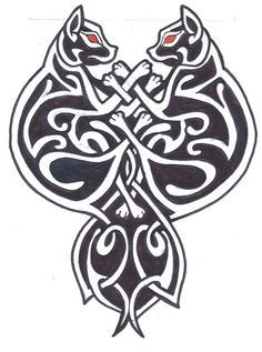 Celtic Cats By Madmoiemeli On