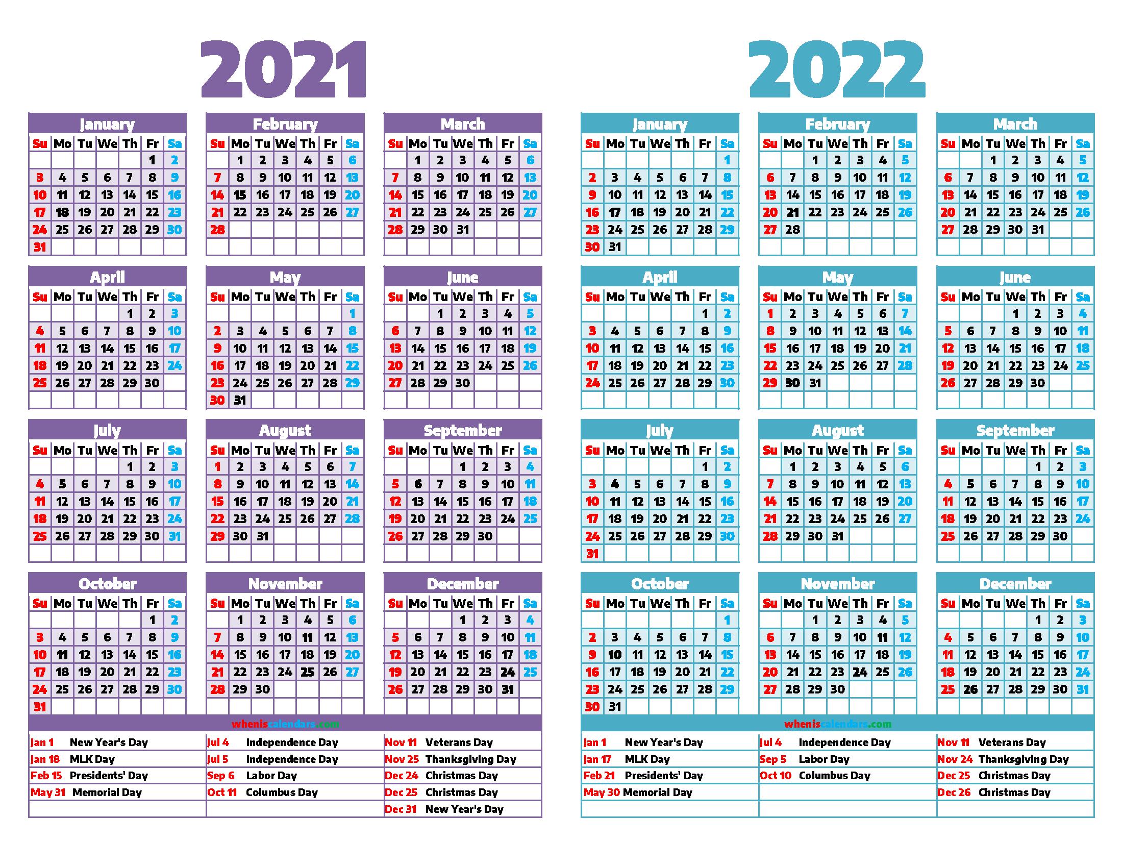2022 Christian Calendar.2021 And 2022 Calendar Printable 12 Templates Calendar Printables Printable Calendar Template Calendar Template