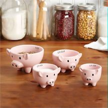 Pig Measuring Cup Set