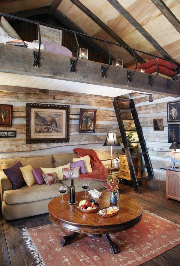 hochbetten-mit-schönem-design-wohnzimmer | innenarchitektur ... - Raumdesign Wohnzimmer
