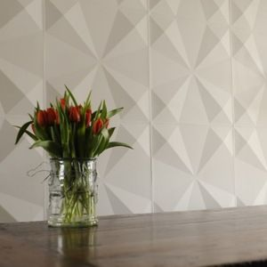 triangles unique wall paper 3d geometric wall covering tile square