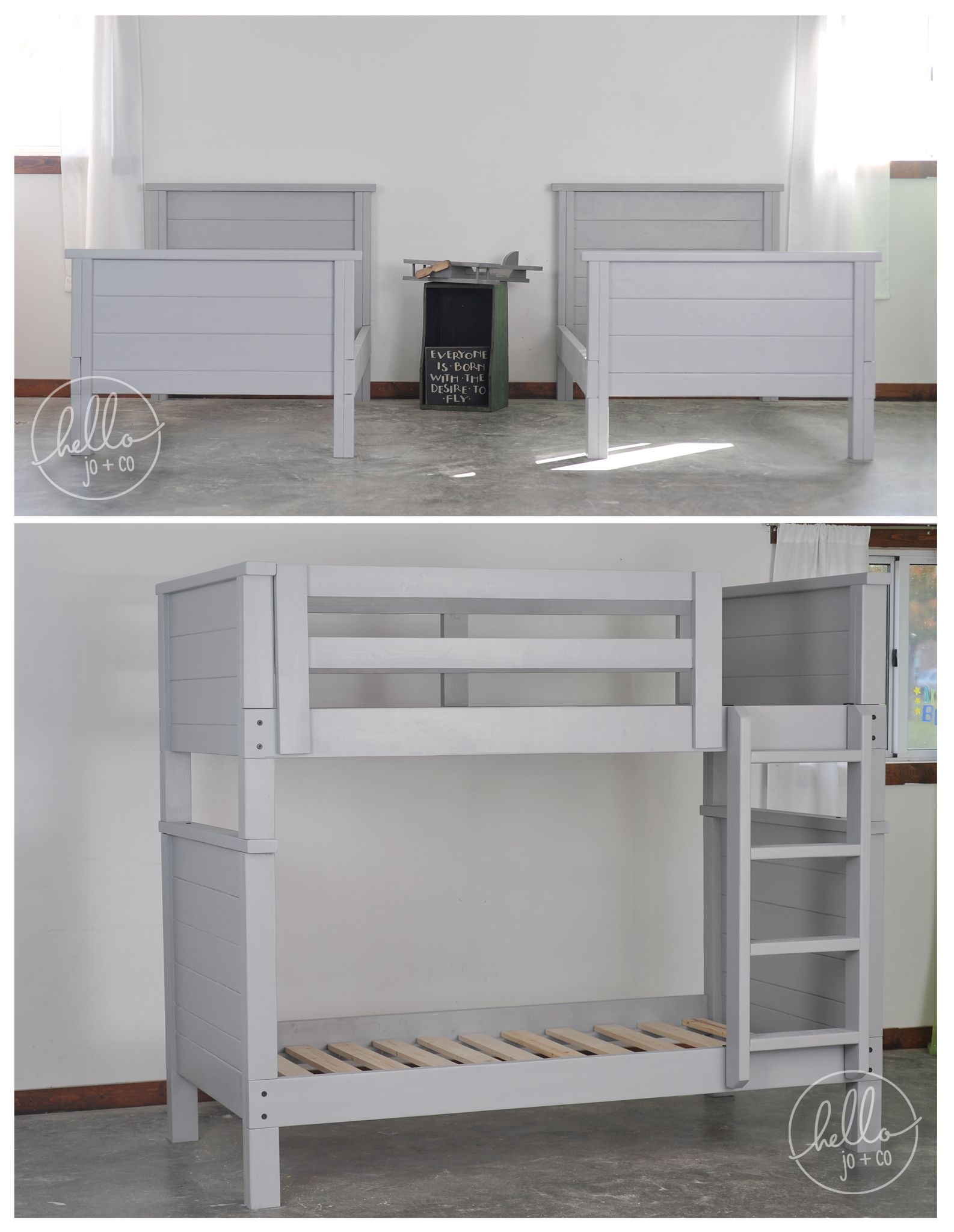 Stackable Twin Beds Hellojoandco Super Duper Sturdy Solid Wood Stackable