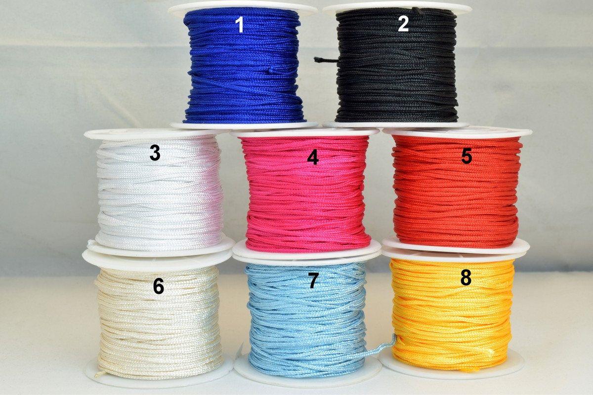 Crew neck rhinestone AB 7 mm nylon thread