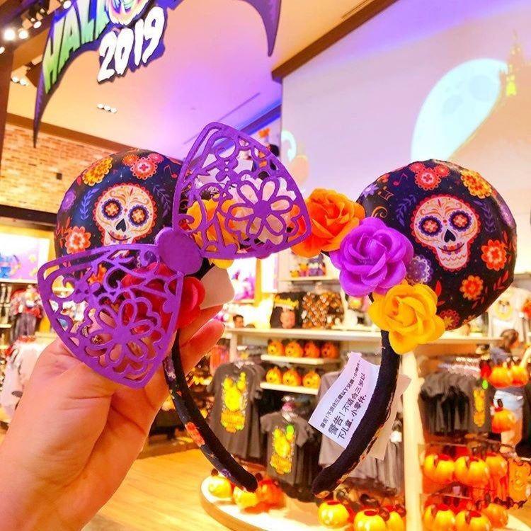 New Shanghai Disney Resort Mickey Sleep Headband Kids Ears Gift Birthday