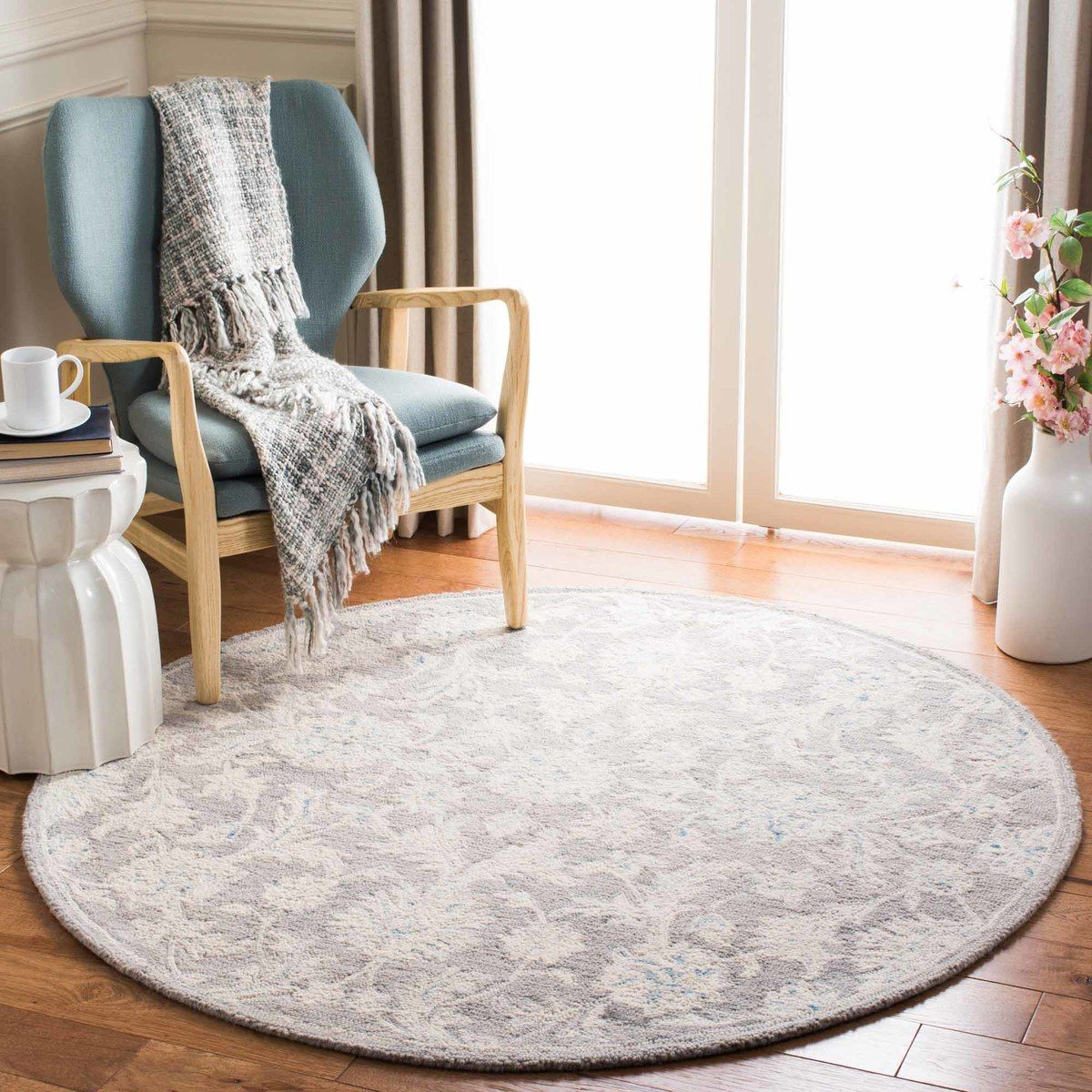 Martha Stewart Living 153 Gracious Garden Area Rug Rugs Square Area Rugs Square Rugs