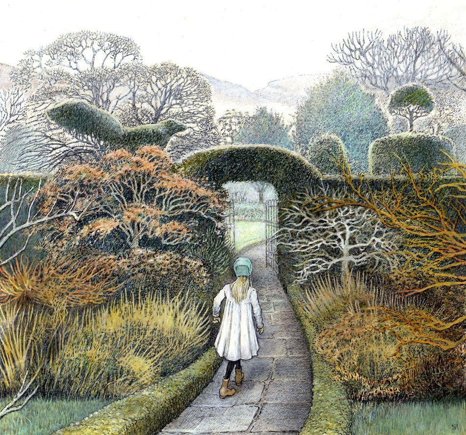 From THE SECRET GARDEN By Frances Hodgson Burnett Illustrations INGA MOORE