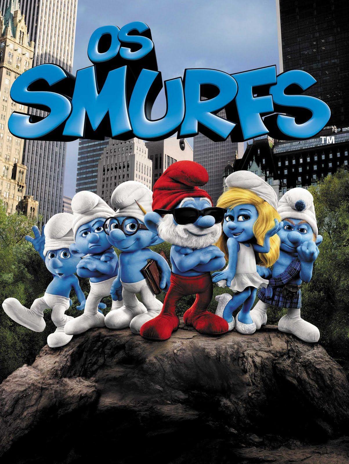 Os Smurfs Cinema Infantil Filmes Infantis Os Smurfs