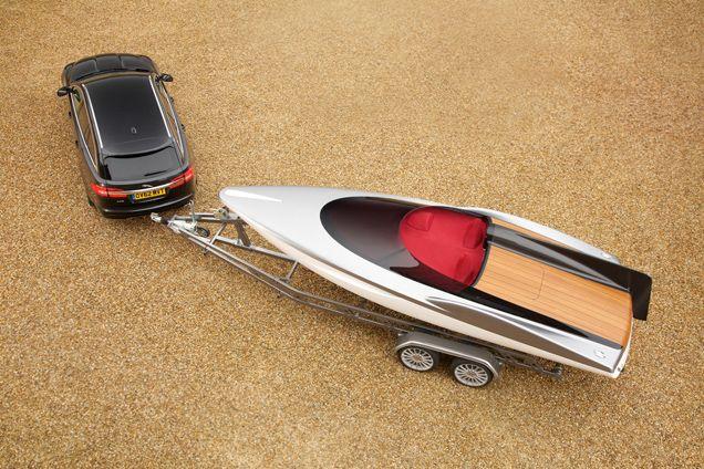 Concept Speedboat. El guiño náutico de Jaguar.