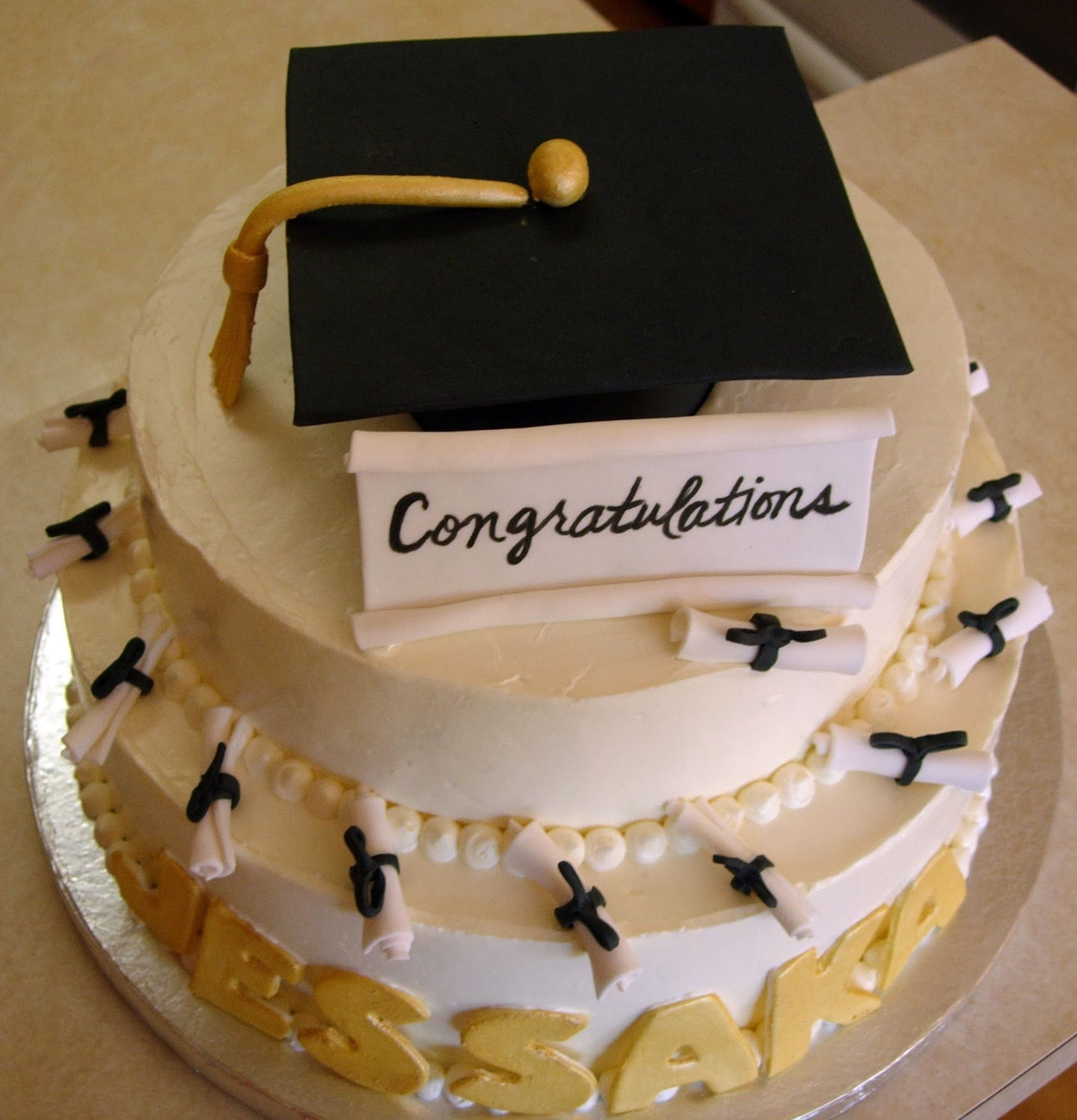 Graduation Cake Congratulations
