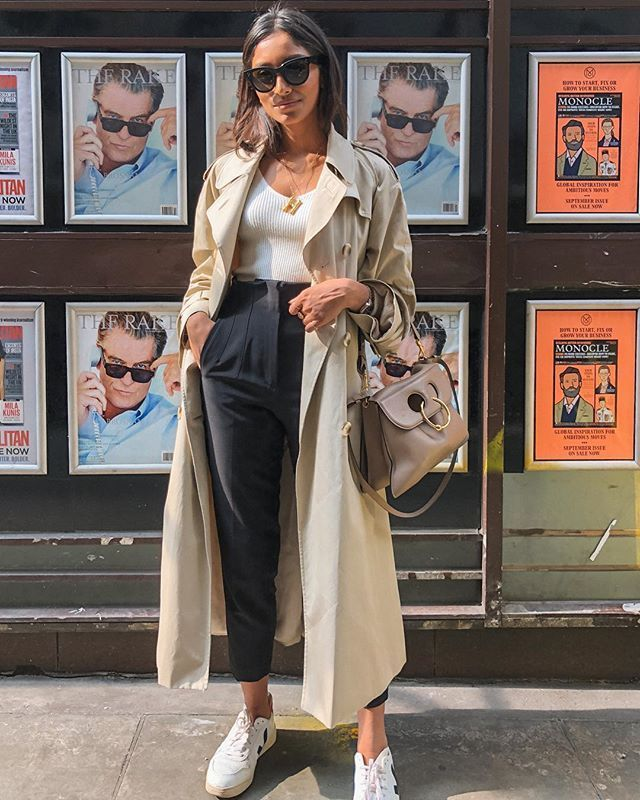 Trench Coat Outfit For Spring - FashionActivation