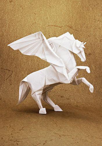 Pegasus Art History Pinterest Pegasus Origami And Origami Art