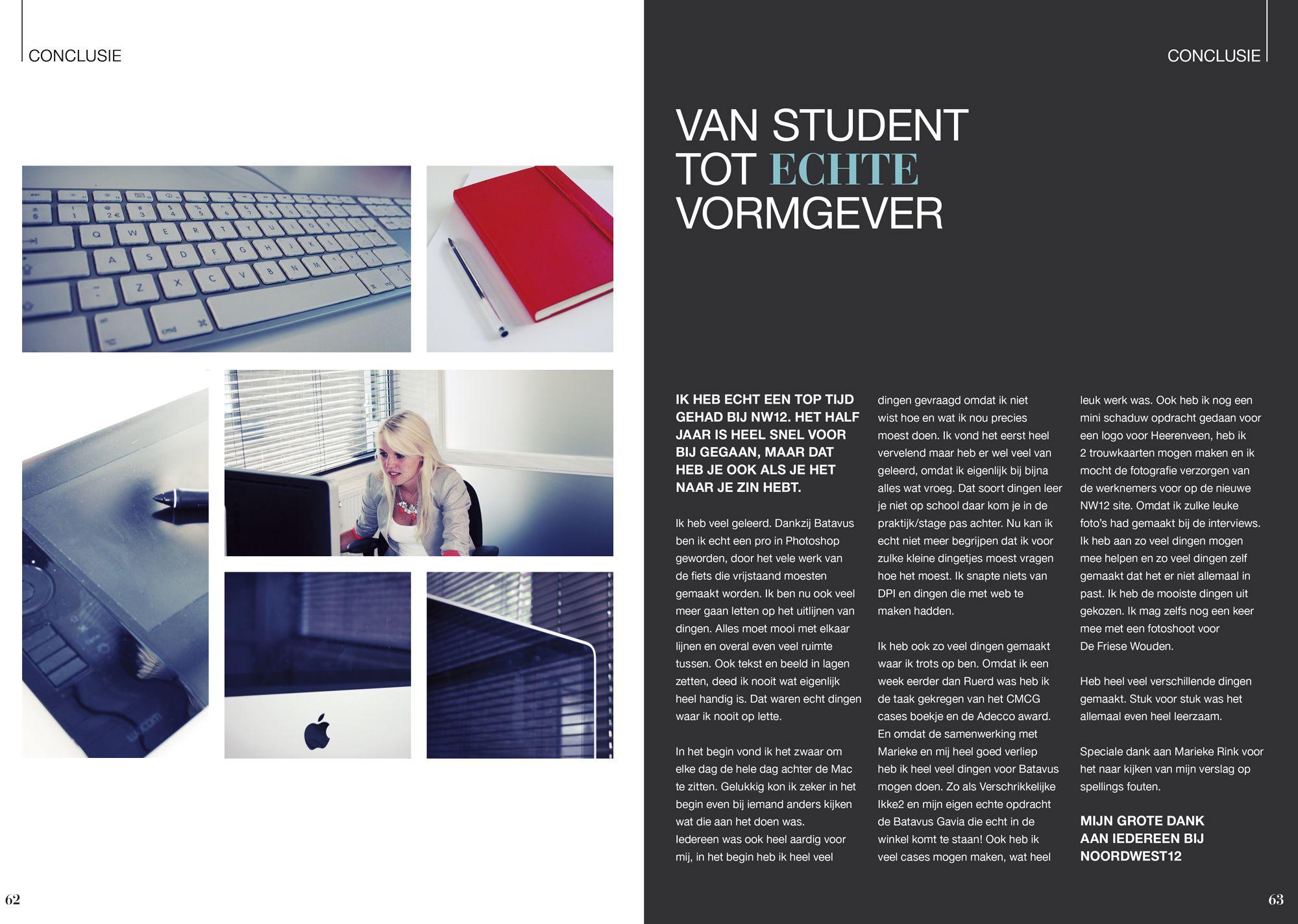 Internship Report Design By Laura Van Der Schuit