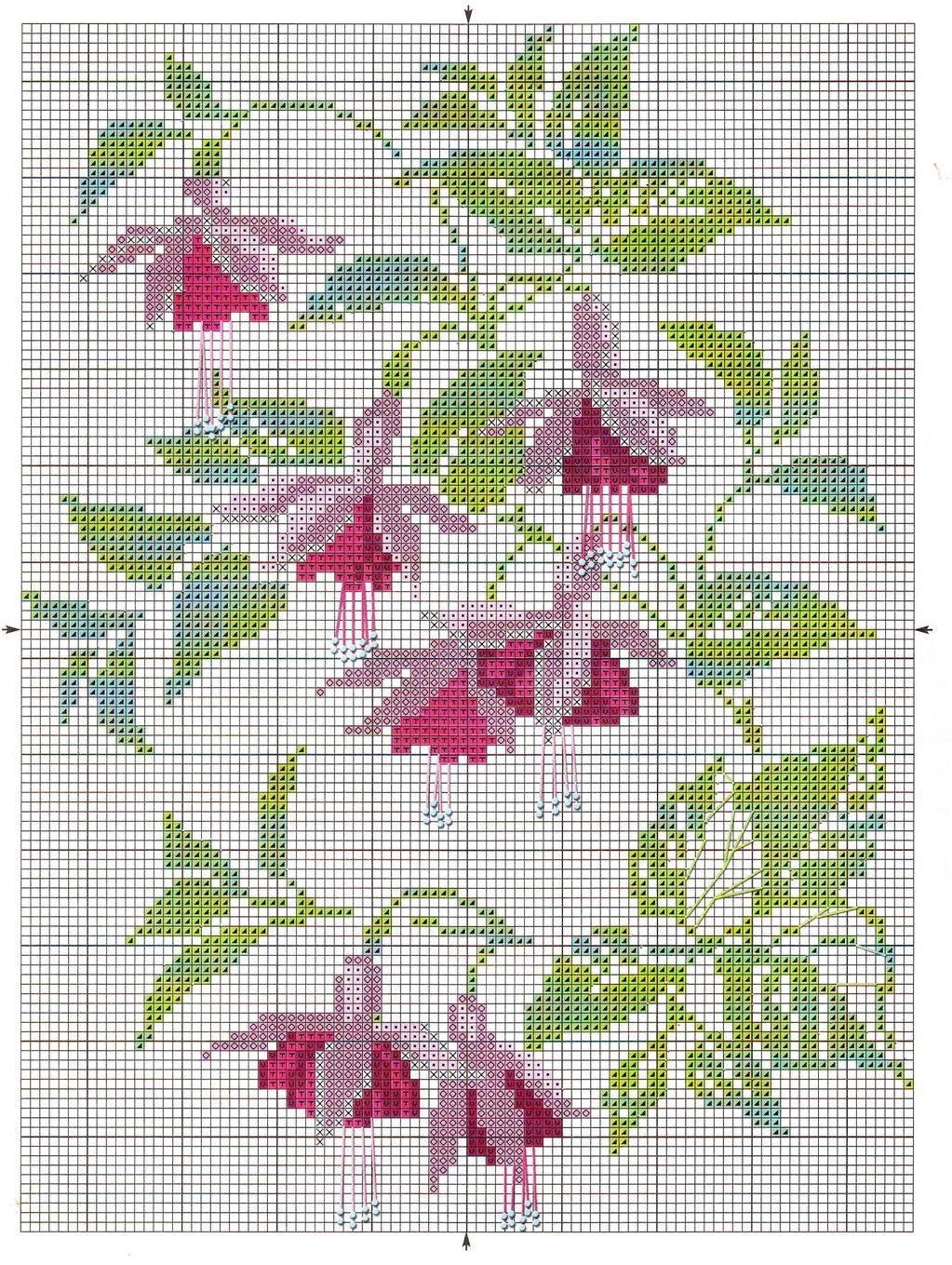 Pin by vasso k on cross stitch flora pinterest stitches flower