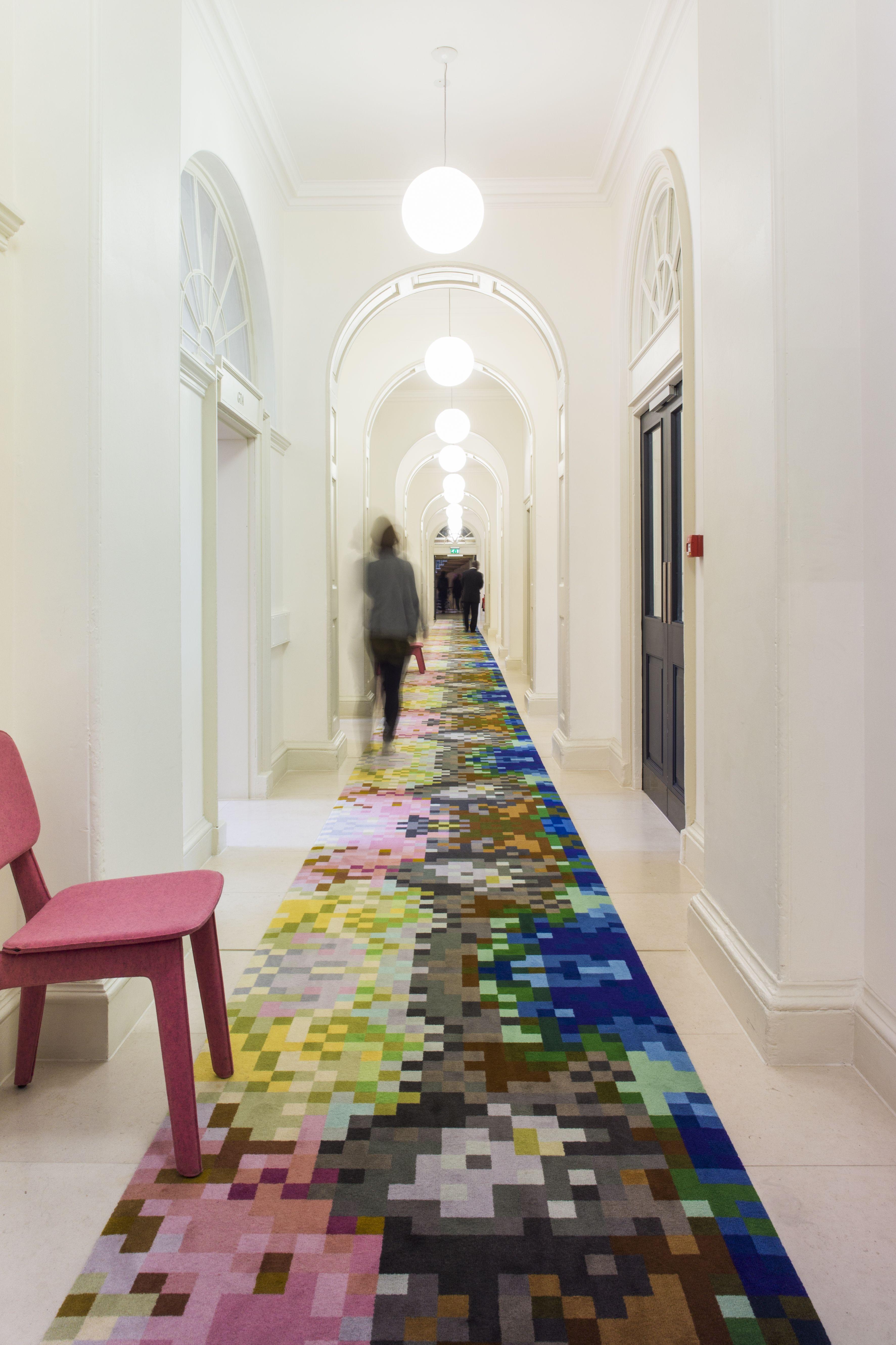 Somerset House In London England Government Commercialspaces Commercialinteriors Design Flooring Hallway Designs Corridor Design Design
