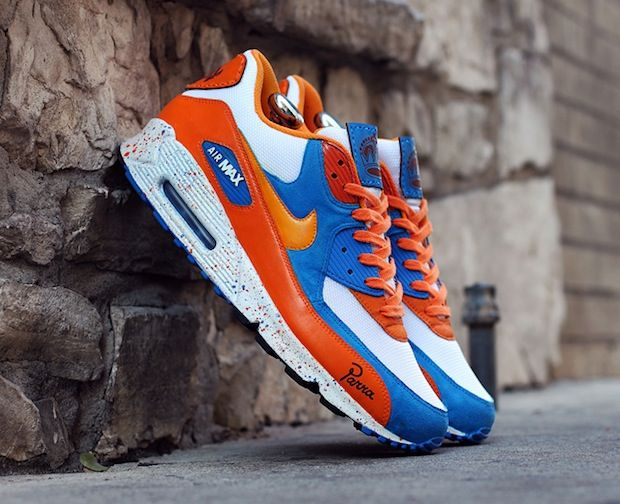 premium selection 8997d 96670 Nike Air Max 90- Amsterdam by Hyperstrike Custom