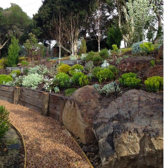 Big Backyard Landscaping Ideas: Hot Tub & Garden Ideas