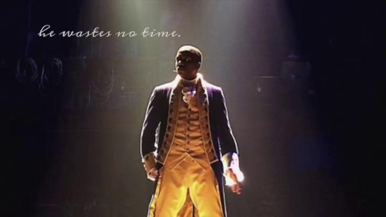 """""""Wait For It""""- Leslie Odom Jr: Hamilton (Original Broadway Cast Recordin..."""