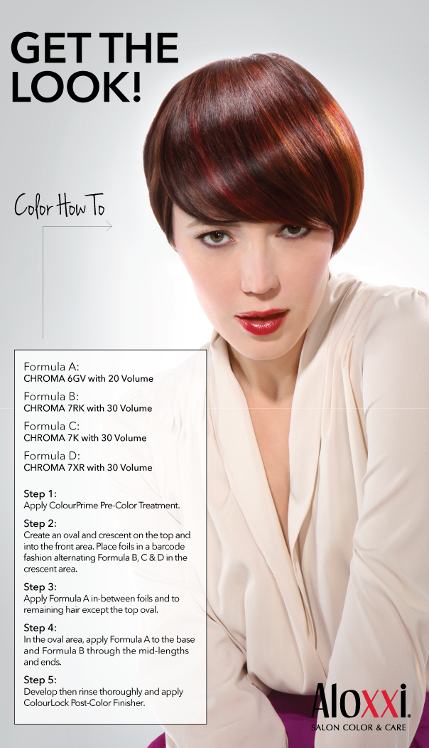 Get The Look Color Personality Ravish Me In Ravennar Redhair