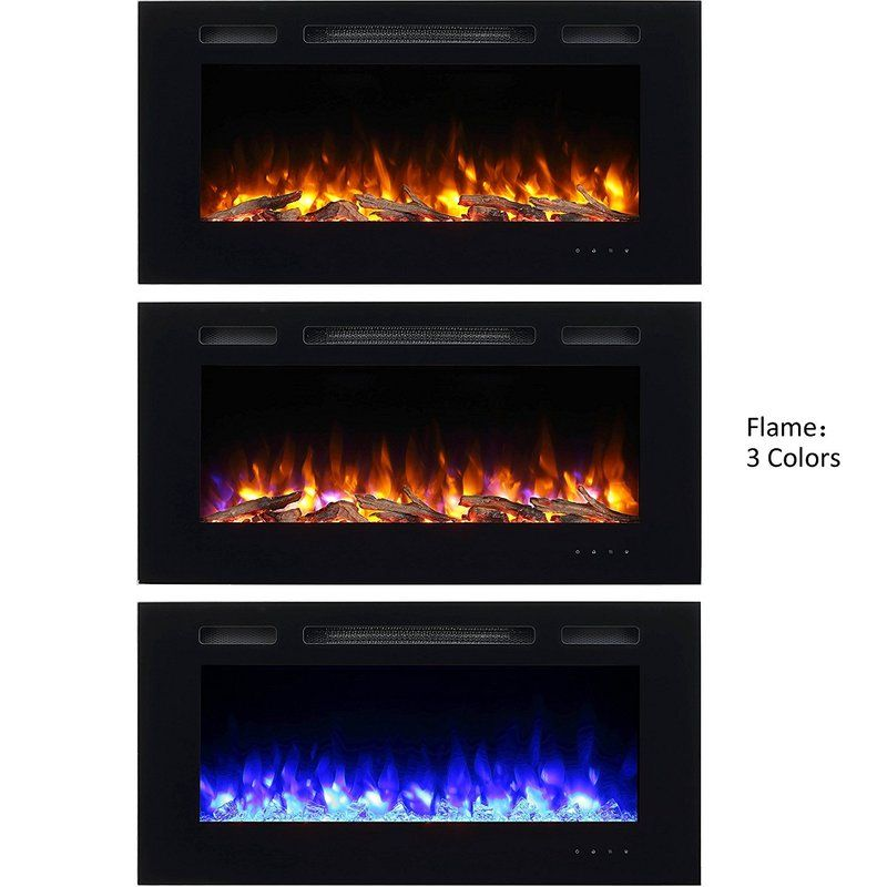 Iserman Wall Mounted Electric Fireplace Best Electric Fireplace
