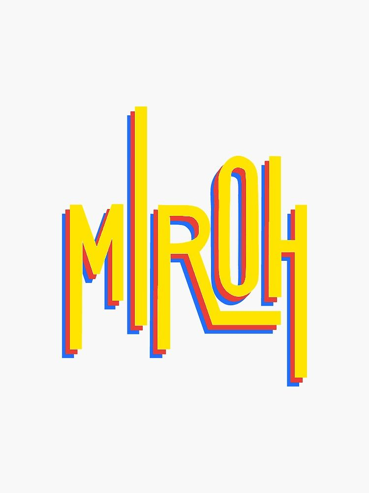 Pegatina 'Miroh - Stray Kids Logo' de heart-and-seoul ...