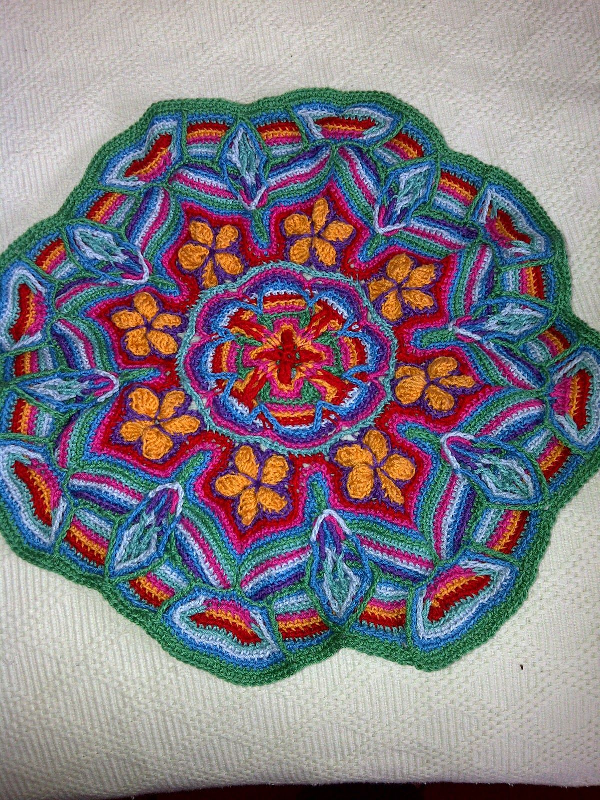 Overlay mandala crochet has great picture instructions for Pattern overlay