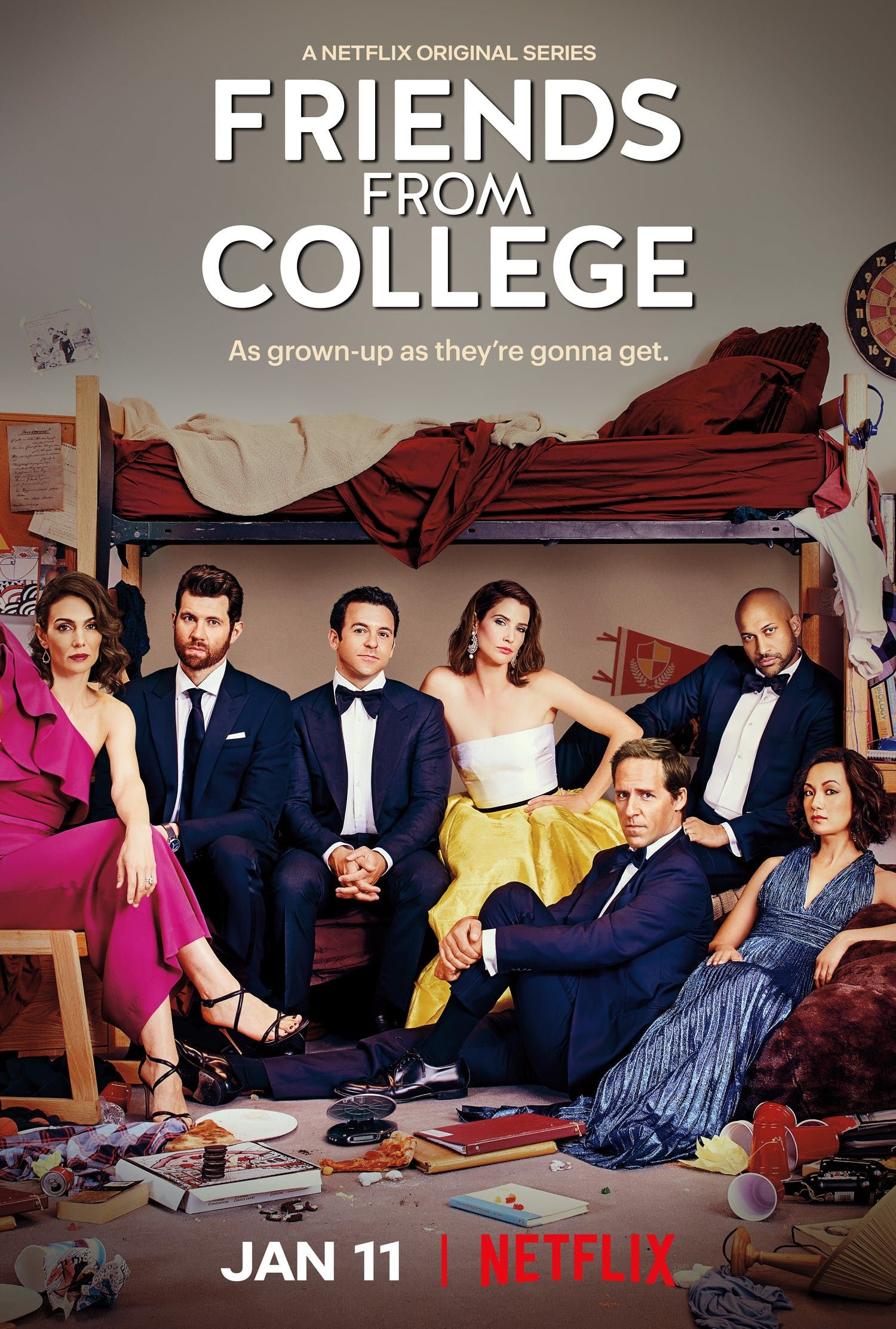 Pin by Teresa Emrich on Netflix | Tv series 2017, College