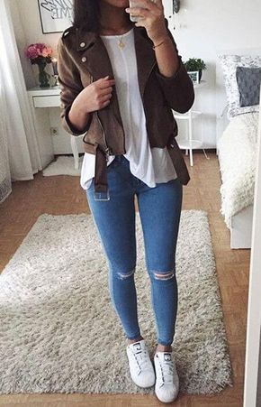 10 Simple Everyday Outfits for University Lista de deseos, Ropa y