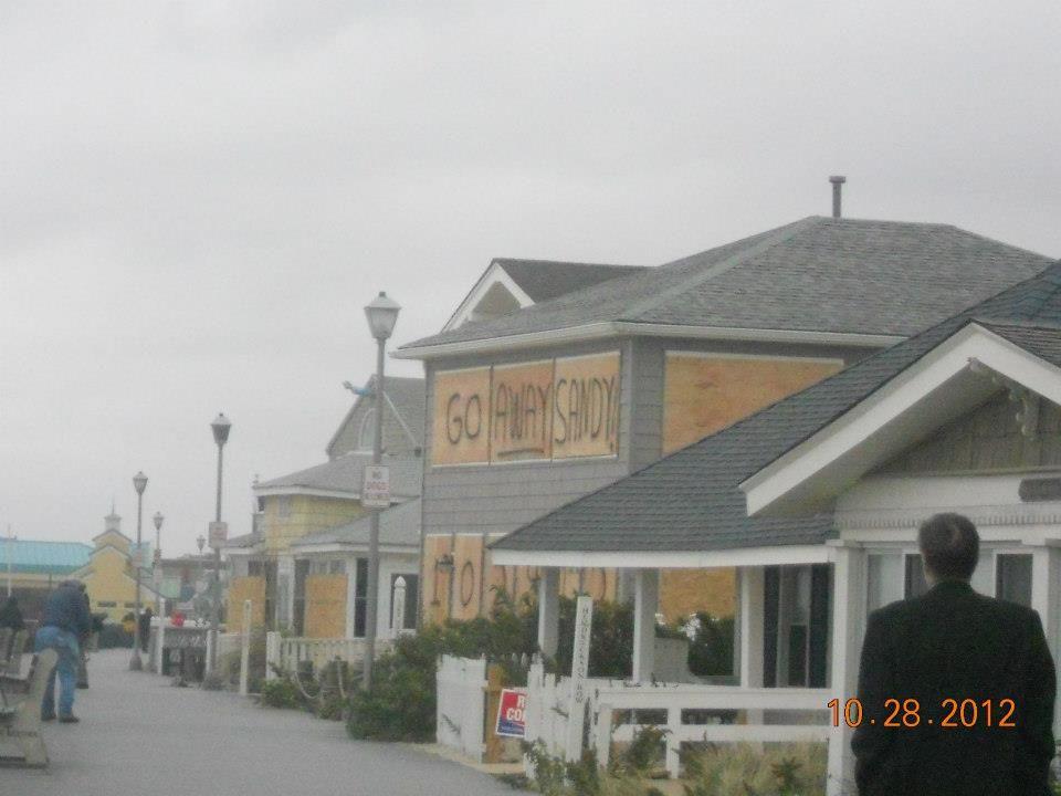 Near The Frank Sinatra House, Point Pleasant Nj Boardwalk -9889