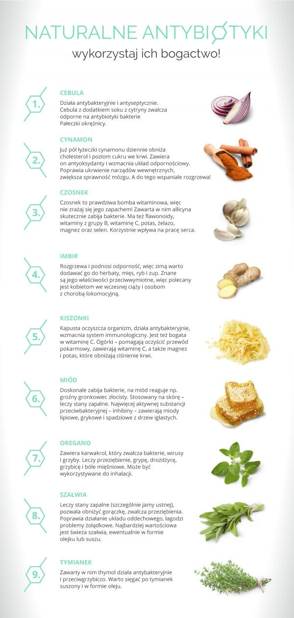 Naturalne Antybiotyki Health Food Workout Food Workout Eating