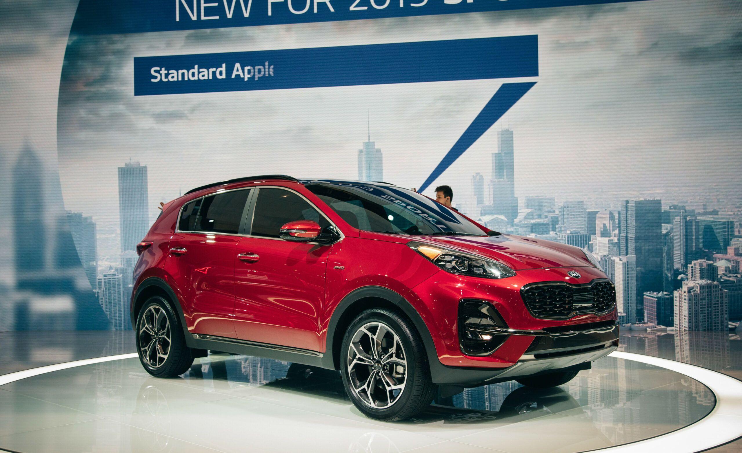 Kia Sportage 2020 Model Redesign Growing address for