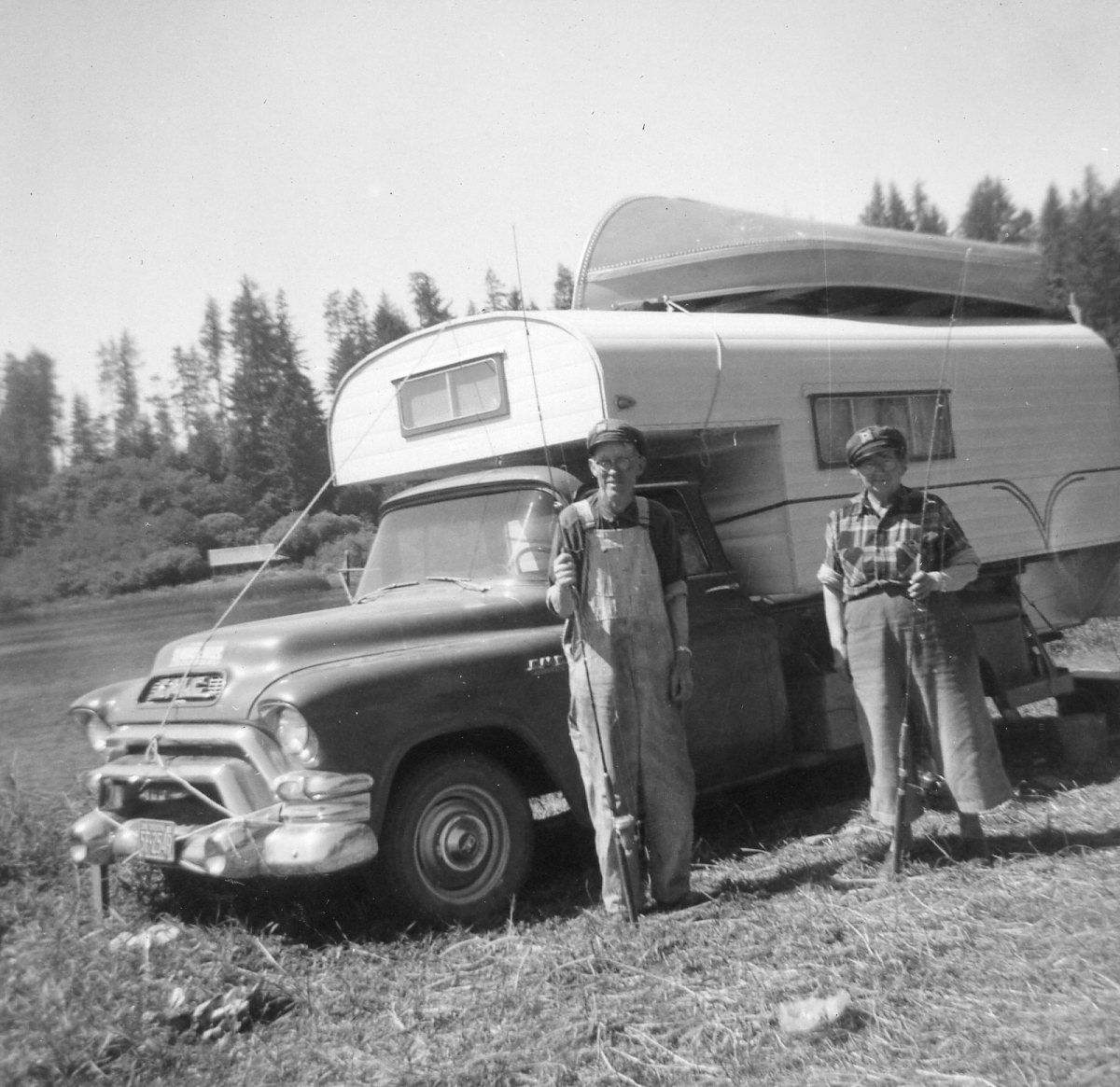 Pin By Jason Edwards On Campers Vintage Chevy Trucks Motorcycle Camping Motorcycle Camping Gear