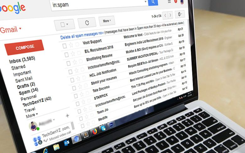 Google Takes Charge Of Gmail Spam No Account Has Been Compromised Gmail Google Spam