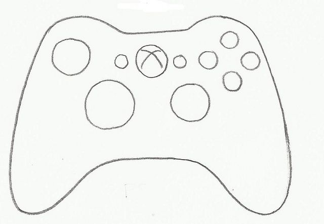 Video Game Controller Xbox Cookie Cutter Cookie Cutters