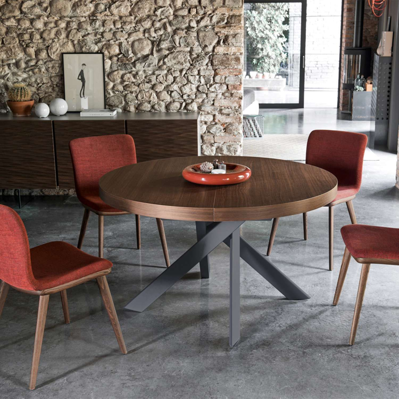 Tivoli Round Extending Table Ceramic Dining Table Modern Dining Table Round Dining Table Modern