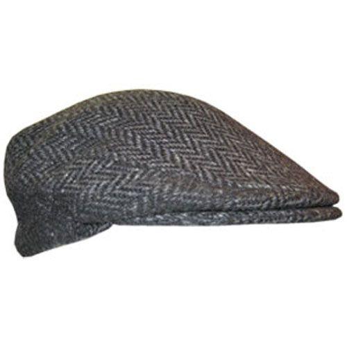 A beautiful dark gray Irish Flat cap. The herringbone pattern 1a06046aa07