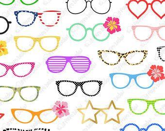 50 Sunglasses Clipart Digital Sunglasses Clip Art Pool Party Clipart Shades Clip Art Summer Clipart Summer Clip Art Instant Download Clip Art Clip On Sunglasses Digital Clip Art