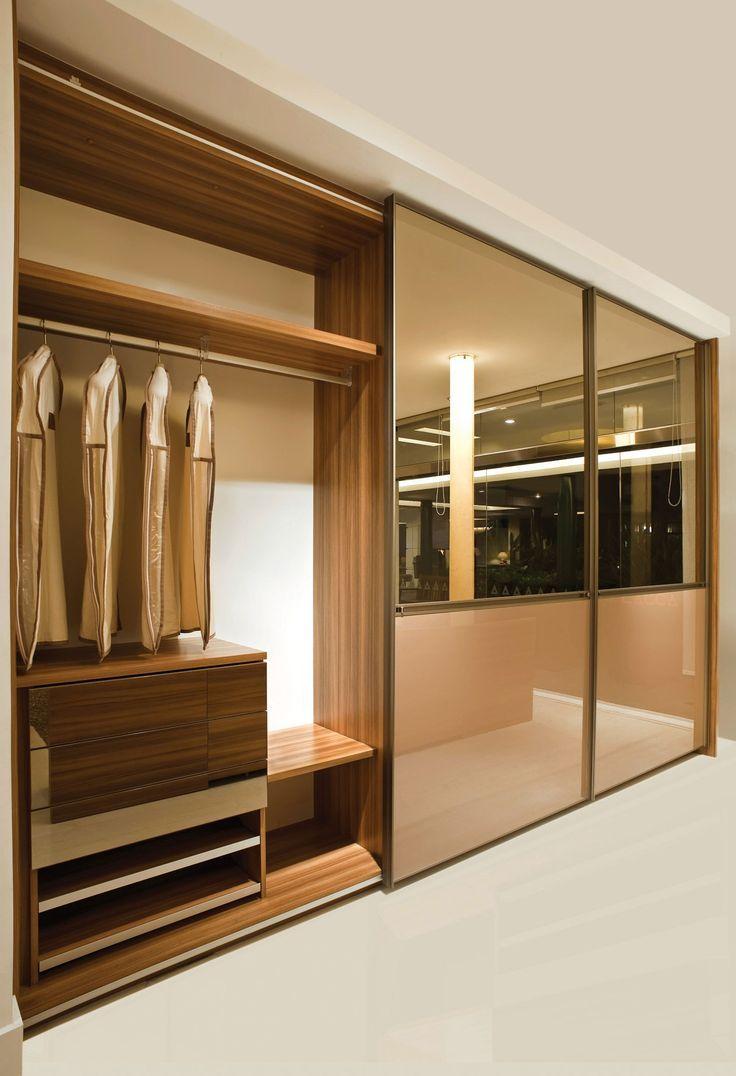 Armario Pequeno Quarto ~ Porta Vidro, Closet Armários Guardaroupas, Guarda Roupa Espelho, Quarto Closet, Guarda Roupa