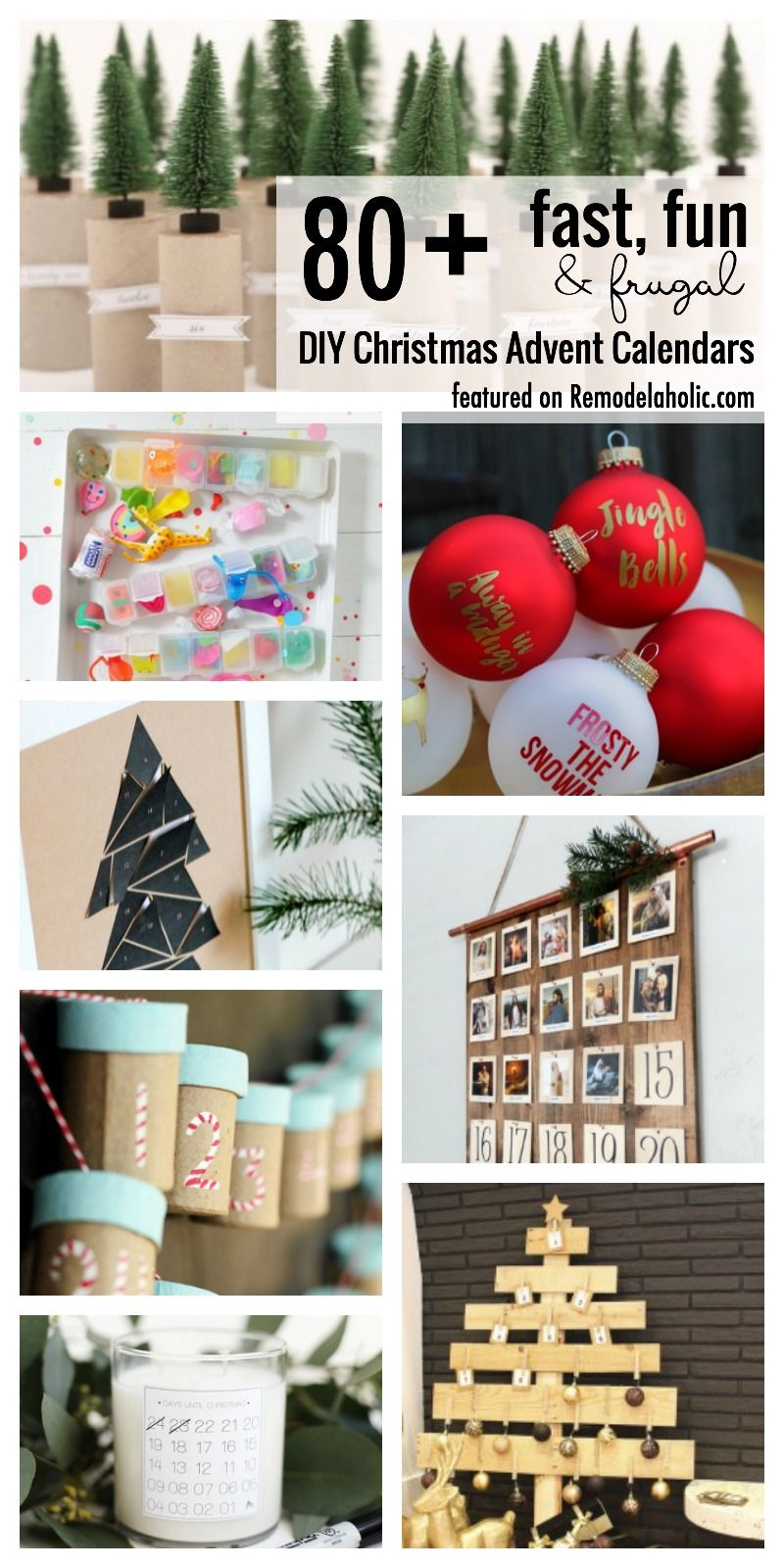 11++ Make your own christmas advent calendar ideas