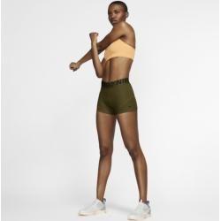 Die Nike Pro Shorts sind ein vielseitiges Kleidungsstück mit Dri-fit-technologie, die dich trocken hält, wenn es heiß hergeht. Das weiche, elastische Material sorgt für bequemen Halt.