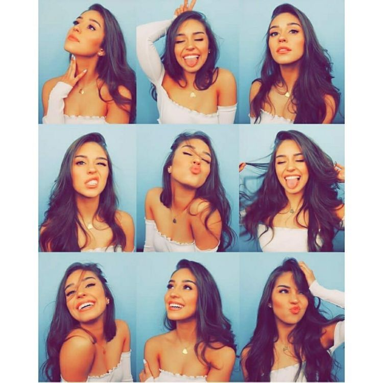 Great poses for selfies