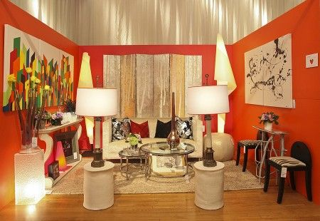 Arlene Angard, an interior designer on Vedere, was a top seller at Design by Design 2012   Photography Credit: Moore & Giles, Inc.