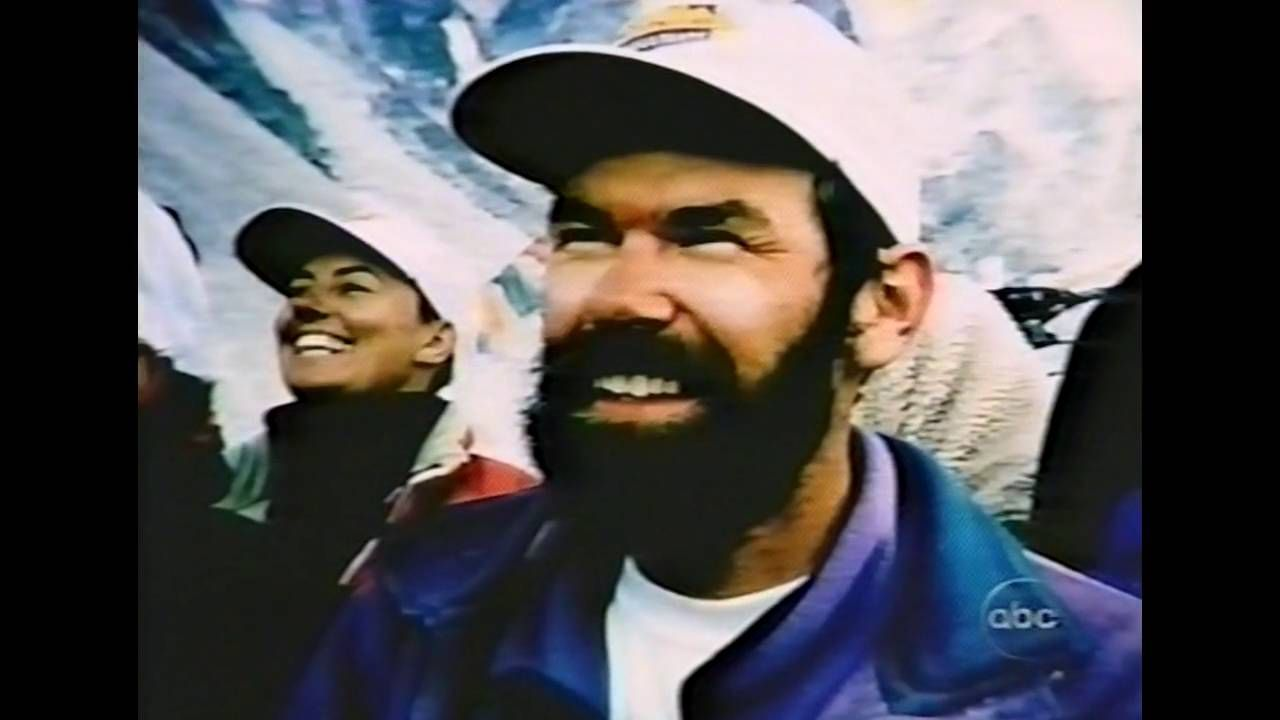 Orginalt film materiale fra vores ekspedition 1996 TURNING POINT - Mountain Without Mercy